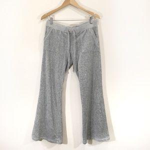 Juicy Couture Grey Velour Tracksuit Sweatpants
